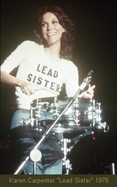"Karen Carpenter ""Lead Sister"" 1976"
