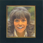 Karen Carpenter, illustration, Now & Then album, 1973